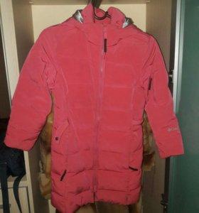 Куртка пуховик Columbia для девочки