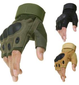 ⚠Тактические перчатки без пальцев