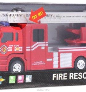 Пожарная машина, инерционная