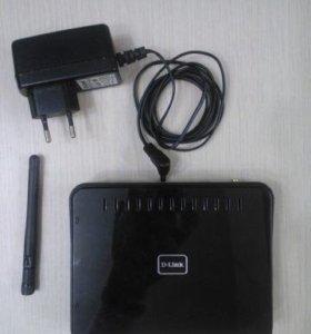Роутер D-Link DIR-300, black