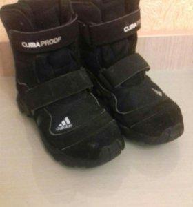 Зимние ботинки Adidas р.31