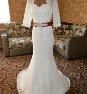 Свадебное (выпускное)платье