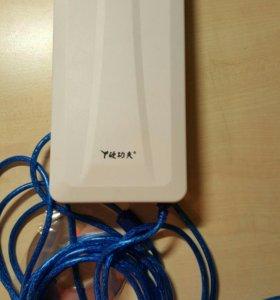 Мощный wifi адаптер.