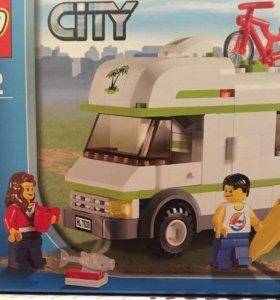 Новый конструктор Lego 7639 Camper