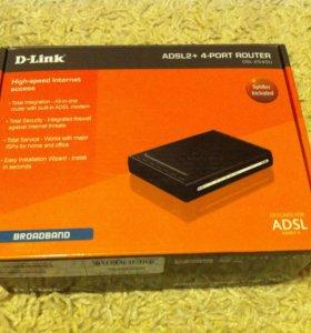 Молем d-link DSL-2540U