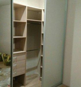 Гардеробная, встроенный шкаф