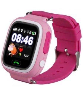 Детские часы телефон Smart Baby Watch Q80 c GPS