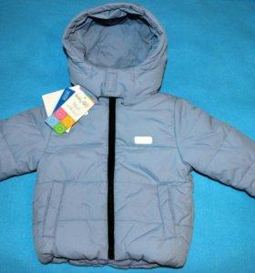 Новая куртка весна-осень 74 см