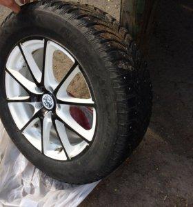 Резина Bridgestone blizzard spike-01, 225/60/17