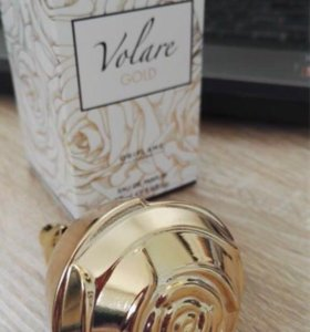 Парфюмерная вода Volare Gold, 50мл.