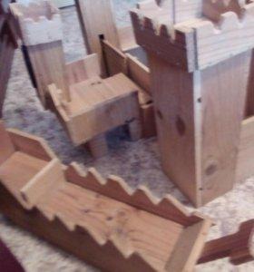 Деревянный замок. Корабль