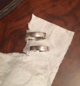 Новые золотые кольца Cartier 14 гр. 750 пр