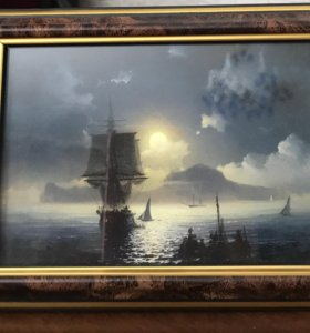 Картина на подставке
