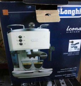 Рожковая кофеварка DeLonghi ICONA VINTAGE ECOV 311