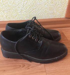 Ботинки, стелька22 см