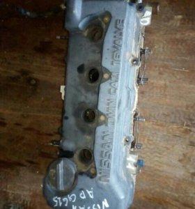 Головка блока цилиндров Nissan AD, WFY11, QG15DE в