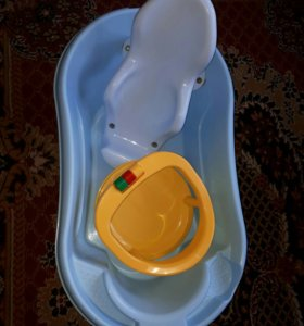Ванночка, горка и стульчик