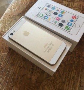 Продам iPhone 5s gold 16gb