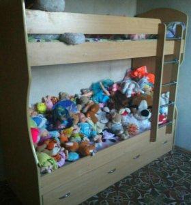 Кровать двуxярусная