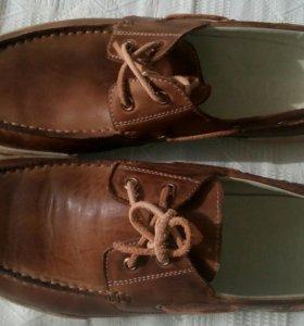 Ботинки натуральная кожа новые