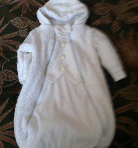 Детский демисезонный костюм на девочку