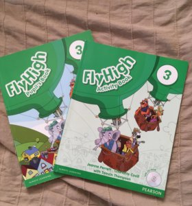 FlyHigh 3 pupil's book & activity book