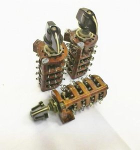 Переключатели  Галетные 2П16НПМ