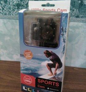 Экшен камера спорт