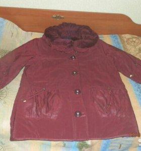 Куртка деми 56 размер