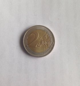 Монета 2 евро (2016)