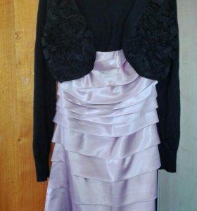 Платье+болеро42-44