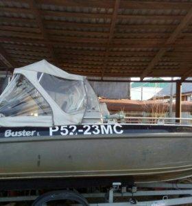 Лодка Buster L с новесным мотором HONDA 50 +прицеп