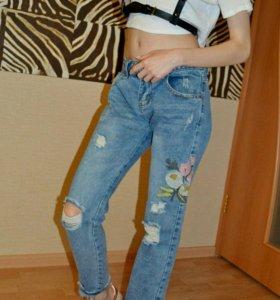 💙Новые джинсы бойфренды