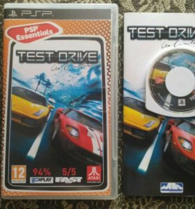 PSP Test Drive: Unlimited
