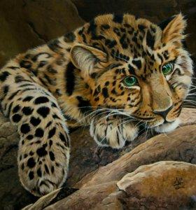 """Картина """" Леопард"""""""