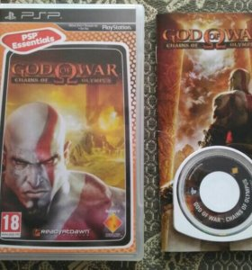 PSP God of War: Chains of Olympus