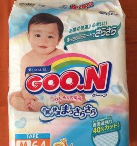 Подгузники GOON М 6-11 кг
