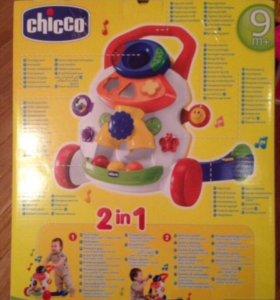 Игровой центр Chicco Ходунки 2 в 1