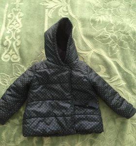 Куртка утеплённая д/дев