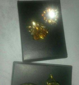 Золотые серьги!!!!