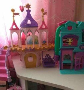 Little pony и little pet shop
