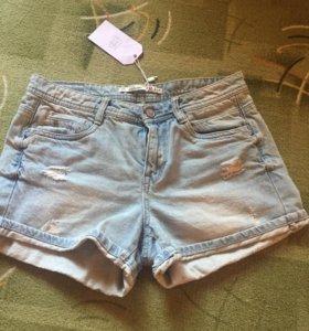 Шорты джинсовые ( новые)