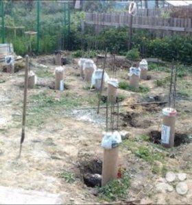 Картонные трубы для фундамента и опалубки.