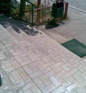 """Тротуарная плитка """"4 кирпича"""""""