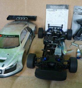 RC (ДВС) Kyosho Inferno GT2 RS AUDI (бензин) 1:8