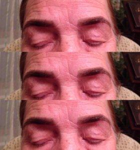 Коррекция и окрашивание бровей