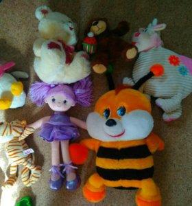 Пакет новых игрушек