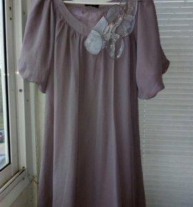 Платье с цветком