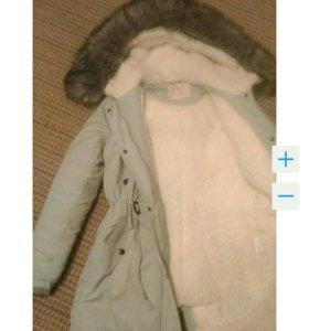 Парка куртка зимняя новая