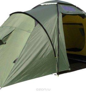 """Палатка Сплав """"Twin camp 4"""", цвет: зеленый"""